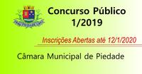 Concurso Público nº 1/2019